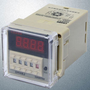 Dh48j AC220V LED Digital Display Time Relay pictures & photos