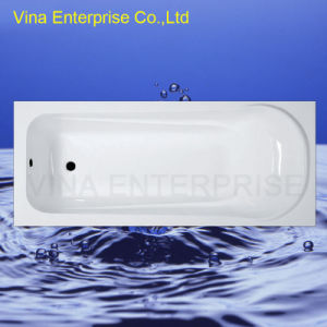 Simple Build in Common Acrylic Bathtub