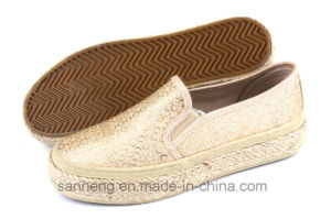 Women Shoes Casual Footwear with Hemp Rope Foxing (SNC-280034) pictures & photos