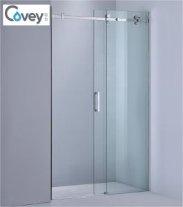 Stainless Steel Shower Screen/Sliding Bathroom Door (KW05D)