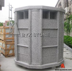 Granite Cemetery Columbarium with 72 Niches pictures & photos