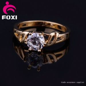 Hot Sale Handmade Engagement CZ Ring Jewelry pictures & photos