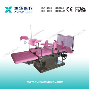 Stainless Steel Frame Hydraulic Delivery Table/Bed (XH-G-3E) pictures & photos