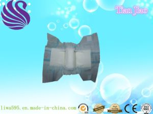 Promotional Baby Diaper with Magic Tapes and Breathable China Manufacturer pictures & photos