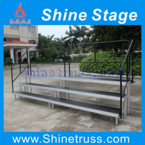 Hot Sale Aluminum Portable Choral Mobile Smart Stage pictures & photos