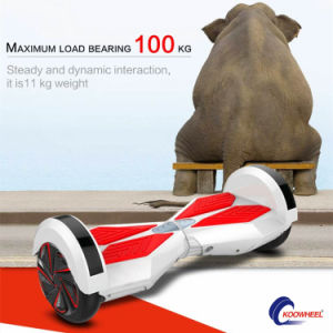 Bluetooth Speaker LED Lighting 2 Wheel Hover Board Vehicle pictures & photos