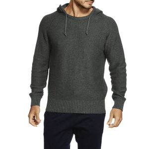 High Quality Plain Fashion Cotton Men Pullover Knit Hoodie (ZS-6041) pictures & photos