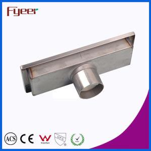 Fyeer Stainless Steel Bathroom Long Linear Floor Drain (FD15020) pictures & photos