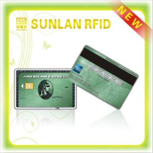 PVC Magnetic Stripe Card with Signature pictures & photos