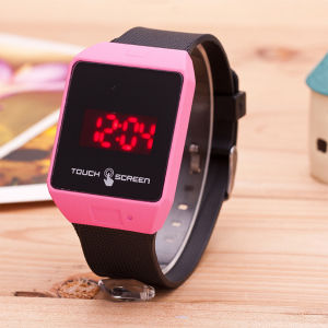 Fashionable LED Touch-Screen Electronic Watches pictures & photos