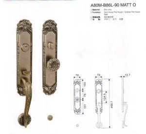 A80m-B86L-90 Matt O Stlye Luxury Door Lock Series pictures & photos