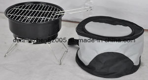 Portable Charcoal Barbecue Grill with Cooling Bag