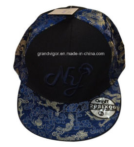 Printing Flat Bill Snapback Hat with Custom Embroidery Logo pictures & photos