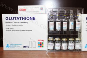 Arrow Glutathione Skin Whitening Injection, 600mg/900mg/1200mg/1500mg/2400mg/3000mg/3G/10g/30g/100g pictures & photos