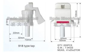 Plastic Faucet with Special Design Type918 pictures & photos