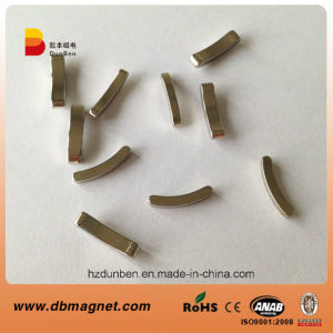 Permanent Sintered NdFeB Arc Motor Magnet pictures & photos