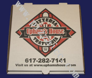 Locking Corners Pizza Box for Stability and Durability (CCB056) pictures & photos
