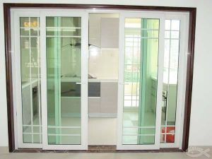 Conch 60mm UPVC Sliding Door for Balcony Garden and etc pictures & photos