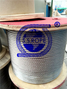 Stainless Steel Wire Rope 6*19+Ppc 10mm
