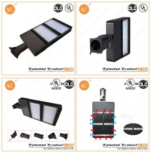 Waterproof IP65 HID Mhl Retrofit 200W LED Canopy Retrofit Shoe Box Light