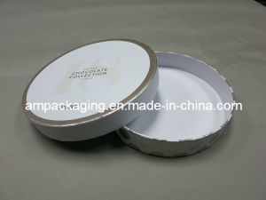 Dongguan Custom Rigid Cardboard Round Christmas Cake Box Wholesale pictures & photos