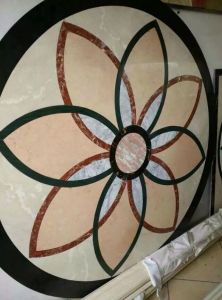 Flooring Tile, Wall Tile Marble Waterjet, Marble Carving