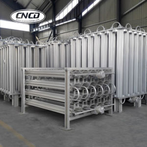 High Quality High Efficiency Cryogenic 150nm3/Hr LNG Air Ambient Vaporizer pictures & photos