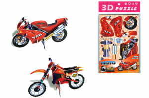 Wholesle Motorbike Paper Jigsaw Puzzle for Souvenir Kids Toy pictures & photos