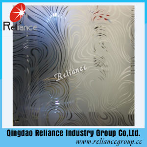 4mm/5mm/6mm Silver /Golden Decorative Glass / Restrunt Decoration Glass/ Acid Etched Decorative Glass pictures & photos