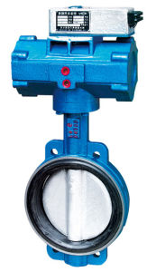 Sell Pneumatic Wafer Butterfly Valve