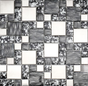 Sliver Stainless Steel Glass Mosaic pictures & photos