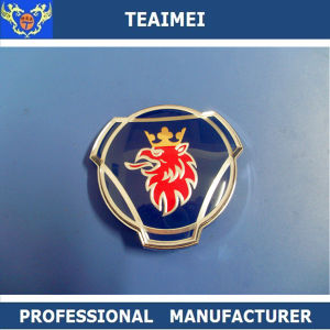 ABS Plastic Chrome Car Emblem Badge For SAAB Logo pictures & photos