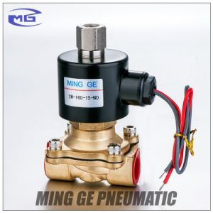 Normally Open 2 Way Pneumatic Water Solenoid Valve (2W-160-15-NO)