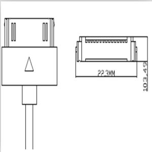 Wonderful Delicate Sync USB Data Cable for iPhone 4S pictures & photos