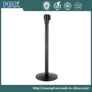 Retractable Airport Stanchion Queue Barrier Post pictures & photos