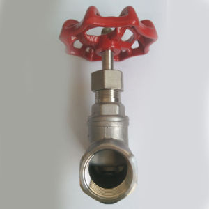"ANSI 1/2"" CF8 Female Threaded Globe Valves pictures & photos"
