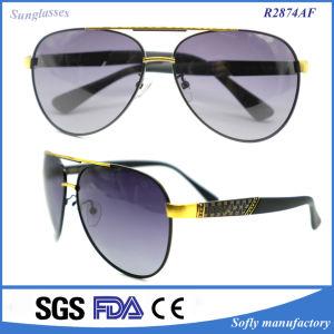 2017 Classic Metal Eyewear Frame Mirror Lens Sunglasses pictures & photos