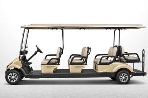 Multi-Functional 48V Electric Golf Product for 8 Passengers