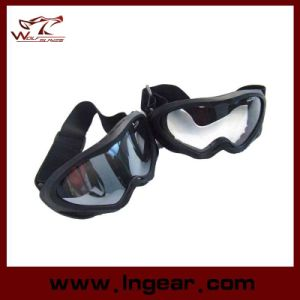 Paintball Outdoor Sport Goggles of UV400 Anti-Wind Riding Goggles pictures & photos