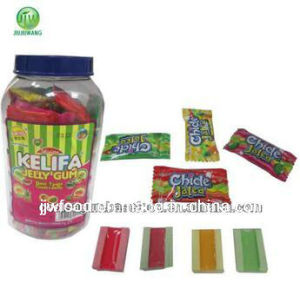 Kelifa Center Filled Jelly Gum in Plastic Jars pictures & photos