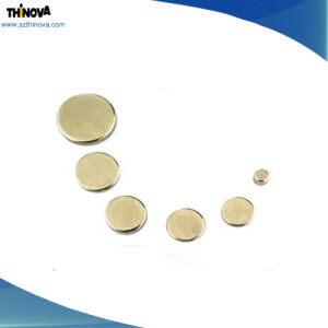 Custom Size Super Strong Sintered Permanent Disc Shape NdFeB Magnet for Generator pictures & photos