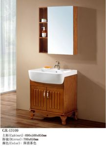 Wooden Furniture Bathroom Cabinet (13109) pictures & photos
