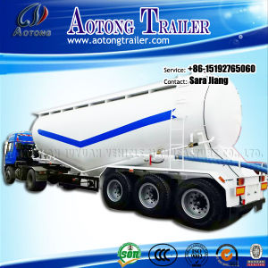 3-Axle Large Volume Tanker Bulk Cement Tanker Truck Semi Trailer pictures & photos