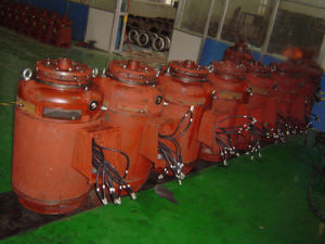Vertical Hollow Shaft Electric Motor for Vertical Deep Well Turbine Pump pictures & photos