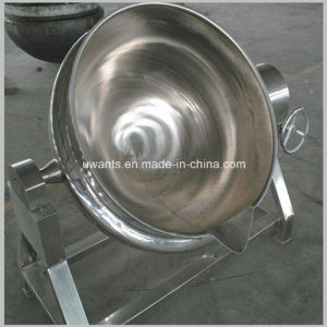 Steamed Heating Way Double Jacketed Cooking Pot pictures & photos