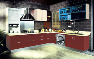 New Style Cupboard, Kitchen Cabinet Door (ZH-9622) pictures & photos