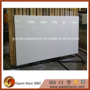 White Nano Crystallized Glass Stone Slab for Countertop pictures & photos