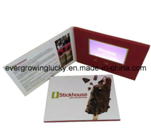 Handmade Card with Custom Video Playing pictures & photos