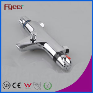 Fyeer High Quality in-Wall Bath Shower Thermostatic Faucet with Diverter pictures & photos