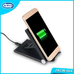 2016 New and Hot Products Phone Accessories Swivel Kickstand Wireless Charger Pad pictures & photos